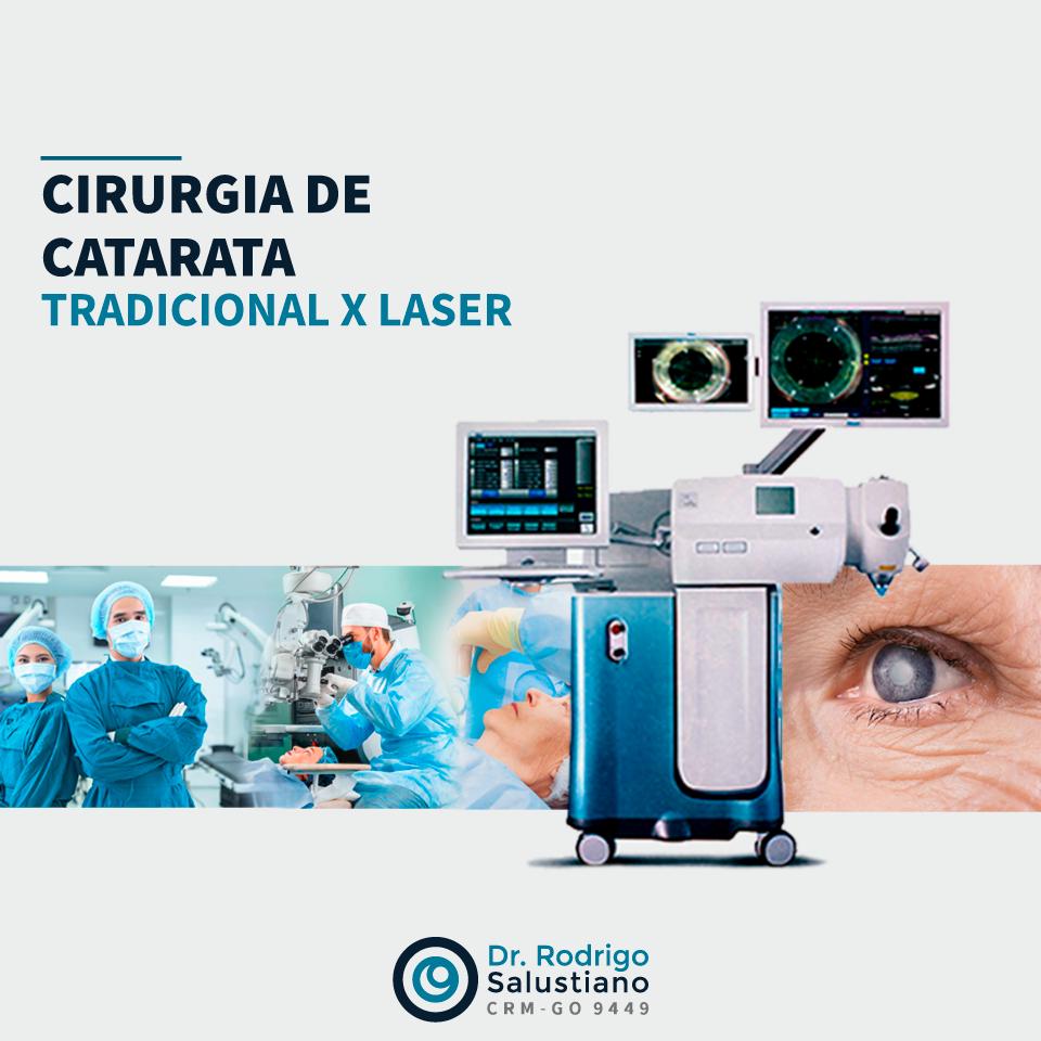 Cirurgia de Catarata: Tradicional x Laser
