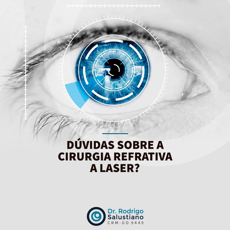 Duvidas sobre cirurgia Refrativa a laser?